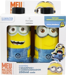 Kit Shampoo + Condicionador Minions 250ml