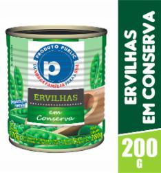 Ervilha Public 200g Lata