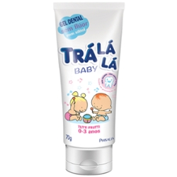 Gel Dental Tra La La Baby 70g Tutti Frutti