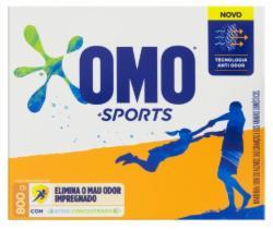 Lava Roupas Pó Omo 800g Sports