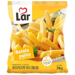 Batata Pre-Frita Lar 2kg