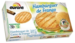 Hambúrguer Frango Aurora 672g