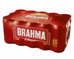 Cerveja Brahma 269ml Lata - Caixa com 15 unidades