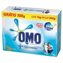 Lava Roupa Po Omo Lv 1k Pg 900g Toque Comfort+Puro