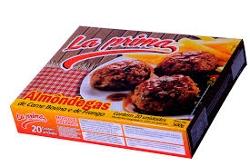Almondega La Prima Carne Bov/Fran 1kg