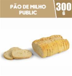 Pão de Milho Public 300g