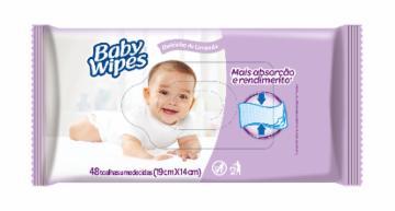 TOALHA UMED HUGGIES BABY WIPES C/48 LAVANDA