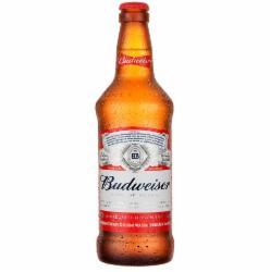 Cerveja Budweiser 550ml Garrafa