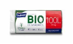 Saco de Lixo Do Brasil Biodegradável Perfumado C/10 SACOS  100L