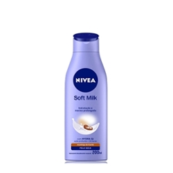 Hidratante Desod Nivea 200ml Soft Milk
