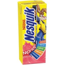 Bebida Lactea Nesquik 200ml Morango