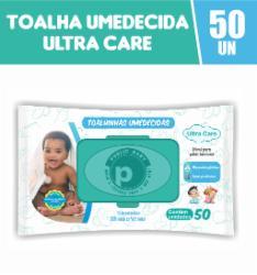 Toalhinhas Umedecidas Public Baby Ultra Care com 50
