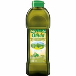 Oleo Composto Olivia 500ml Pet Manjericao