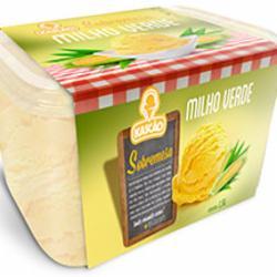 Sorvete Kascao1.5l Milho Verde