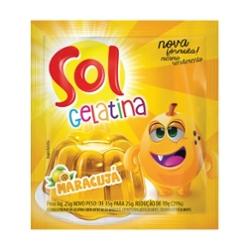 Gelatina Sol 25g Maracuja