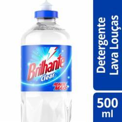 Detergente Líquido Brilhante 500ml Clear