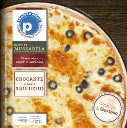 Pizza Public 440g Mussarela