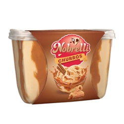 Sorvete Nobrelli 2L Churros