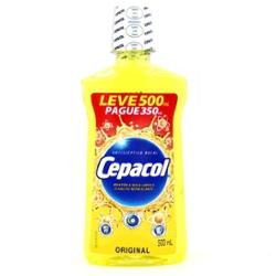 Solucao Bucal Cepacol Lv500 Pg350ml Trad