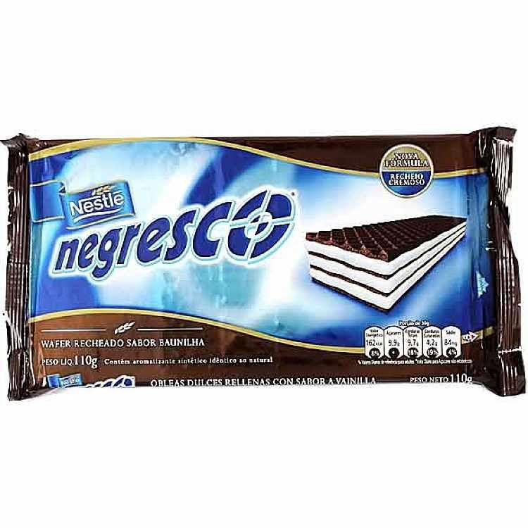 Bisc Nestle Wafer Esp Negresco 110g