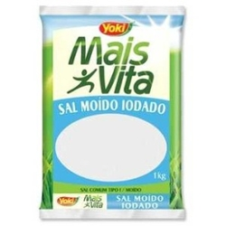 SAL MOIDO IODADO MAIS VITA 1KG