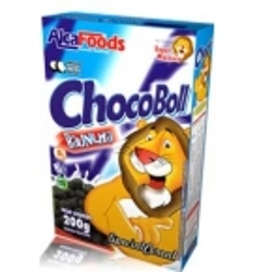 CER. ALCAFOODS 200G CHOCO BOLLUN