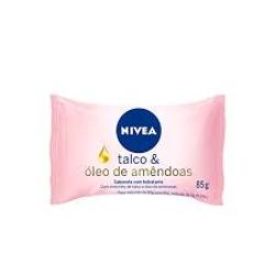 SAB. NIVEA HID. 85G TALCO/OLEO AMENDOAS