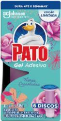 GEL ADESIVO PATO APARELHO C/6 DICO FLORES ENCANTOS