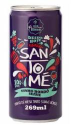 VINHO SANTOME 269ml SUAVE BORDO