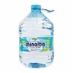 AGUA S/GAS MINALBA 5LT