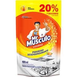 DESENGORDURANTE MR MUSCULO REFIL 400ML+20%DESC.LAR