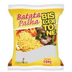 BATATA BISCOITONE PALHA 150G