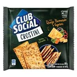 BISCOITO CLUB SOCIAL CROSTINI 80G QJPARM/VEG
