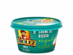 CR. RICOTA TIROLEZ 200G CREMOSO PT
