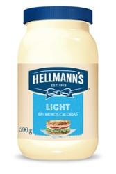 MAIONESE HELLMANNS 500G LIGHT