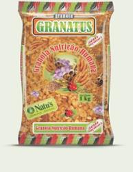 GRANOLA GRANATUS CEREAIS 1kg BANANA/MEL