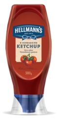 KETCH. HELLMANNS SQUEEZE 380G TRAD FCO