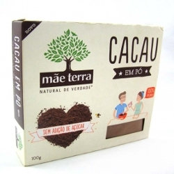 CACAU MAE TERRA EM PO 100G S/ACUCAR
