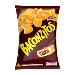 SALGADINHO BACONZITOS 103g