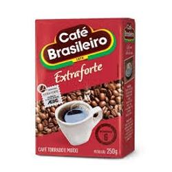 CAFE VACUO BRASILEIRO 250G EXTRA FORTE