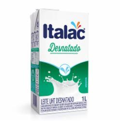 LEITE ITALAC UHT 1LT DESNATADO
