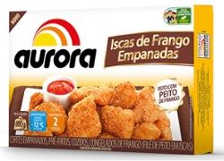 ISCAS FRANGO AURORA 300G EMPANADAS UN