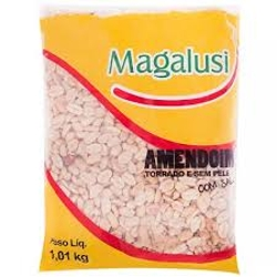 AMENDOIM MAGALUSI S/PELE 1,010KG C/SAL