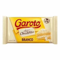 COBERTURA GAROTO CHOCOL. 2,1kg BRANCO
