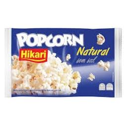 PIPOCA HIKARI MICROONDAS 100G NATURAL S/SAL
