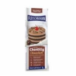 CREME FLEISCHMANN CHANTILLY 1LT CHOCOL. TP