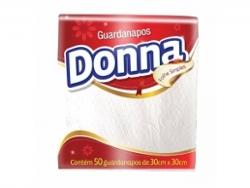 GUARDANAPO DONNA FOLHA SIMPLES 29,5X29,5 GRANDE