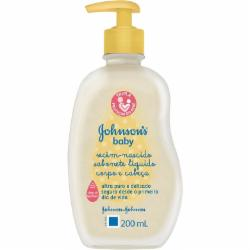 SABONETE LIQ.JOHNSONS BABY 200ML RECEM NASCIDO