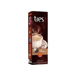 CAFE 3 CORACOES C/LEITE 90G FILTRADO UN