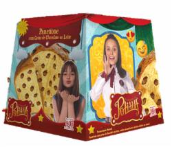 PANETONE VILLAGE  POLIANA 80G GOTAS DE CHOCOLATE